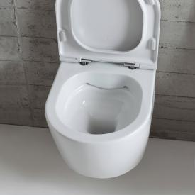 Globo FORTY3 SENZABRIDA® wall-mounted, washdown toilet, rimless white