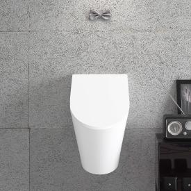 Globo FORTY3 wall-mounted urinal W: 34 H: 57 D: 37 cm, with fitting for lid