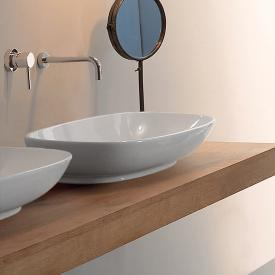 Globo STOCKHOLM countertop washbasin W: 70 H: 16.5 D: 37 cm white
