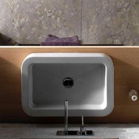 Globo STONE countertop basin white