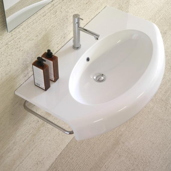 Globo BOWL+ side towel rail W: 14.5 D: 32 cm