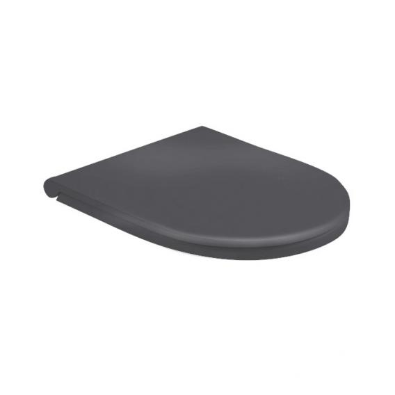 Globo FORTY3 toilet seat, removable matt black, with soft-close