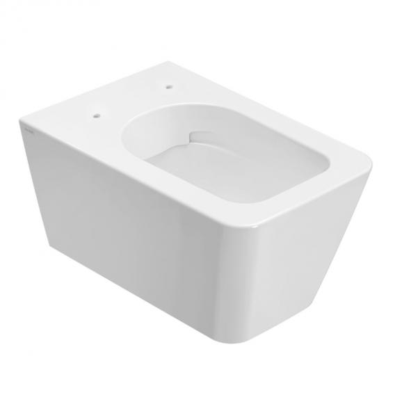 Globo INCANTHO SENZABRIDA® wall-mounted washdown toilet, rimless white