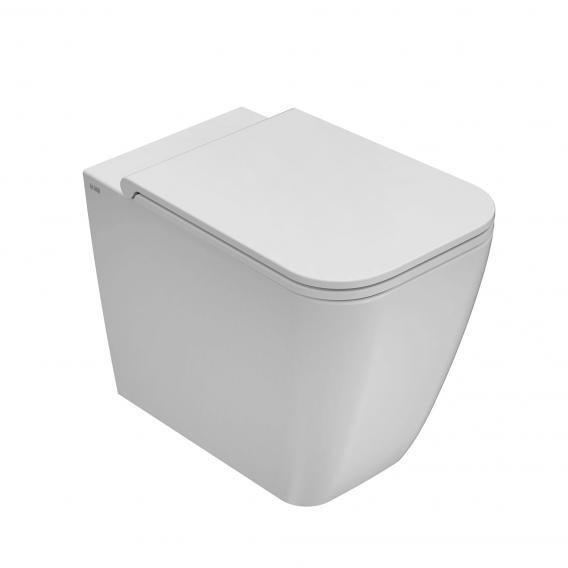 Globo STONE floorstanding washdown toilet, short version matt white