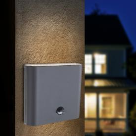Globo Lighting Agam LED wall light with motion sensor