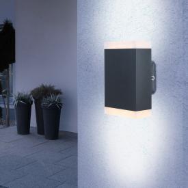 Globo Lighting LED wall light, up-downward
