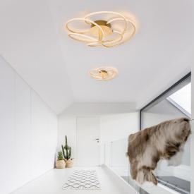 Globo Lighting Wave LED ceiling light