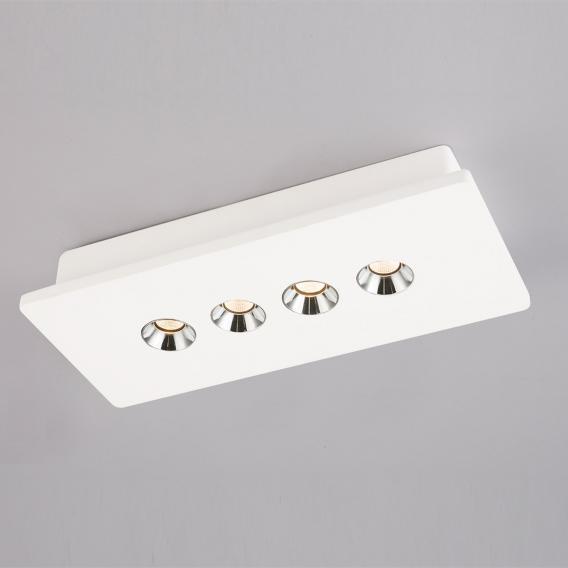Globo Lighting Christine LED spotlight/ceiling light, 4 heads, long bar