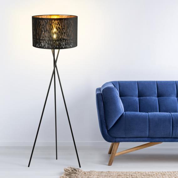 Globo Lighting Tuxon floor lamp 1 head, round