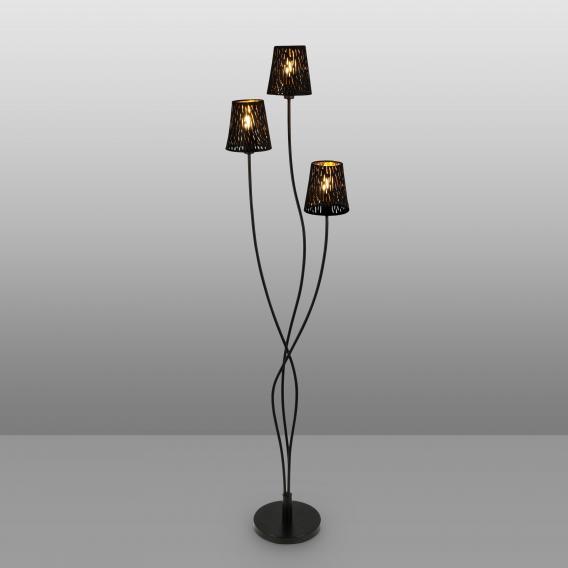 Globo Lighting Tuxon floor lamp, 3 heads