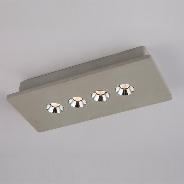 Globo Lighting Timo spotlight/ceiling light, 4 heads, long bar