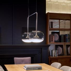 GROK by LEDS-C4 Alive LED 2 headed pendant light