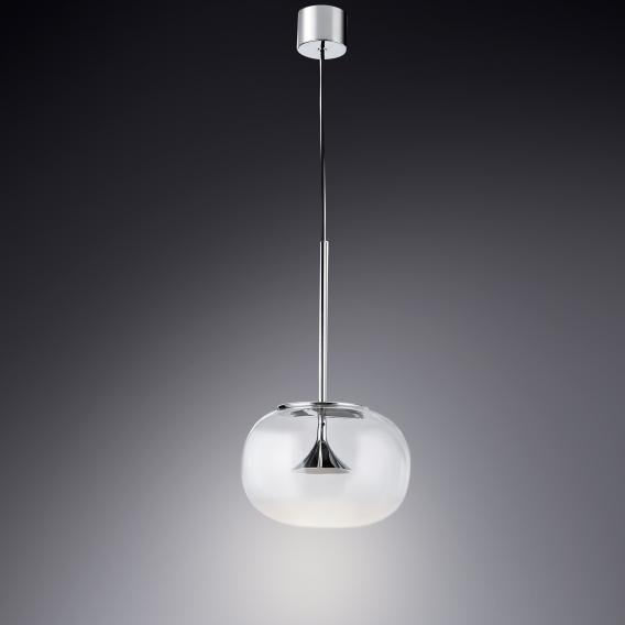 GROK by LEDS-C4 Alive LED single headed pendant light
