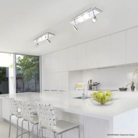 GROSSMANN Domino LED ceiling spotlight 4 heads