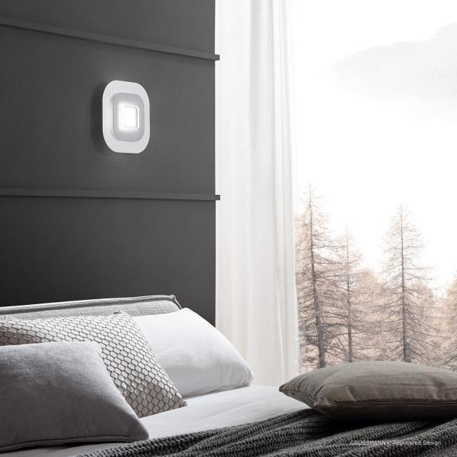 GROSSMANN AP LED ceiling light/wall light, 1 head
