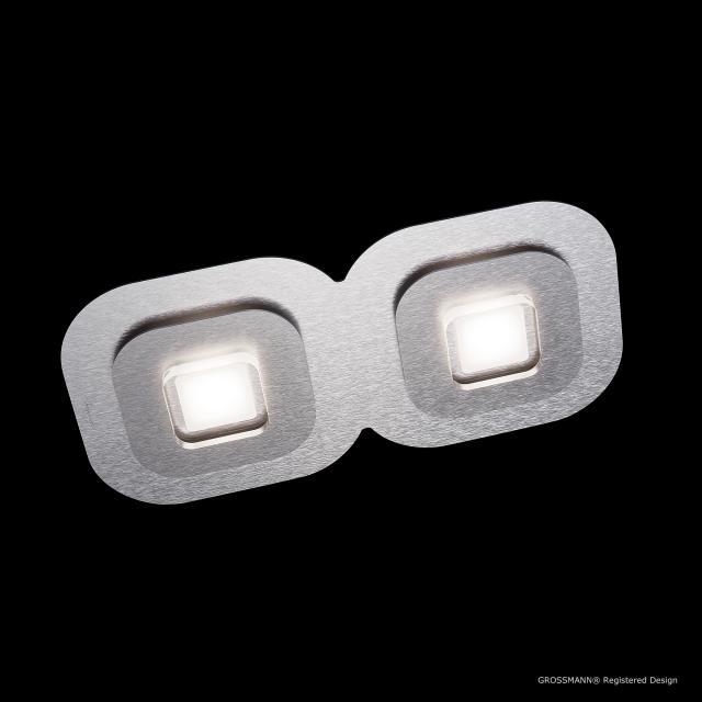 GROSSMANN AP LED ceiling light/wall light, 2 heads