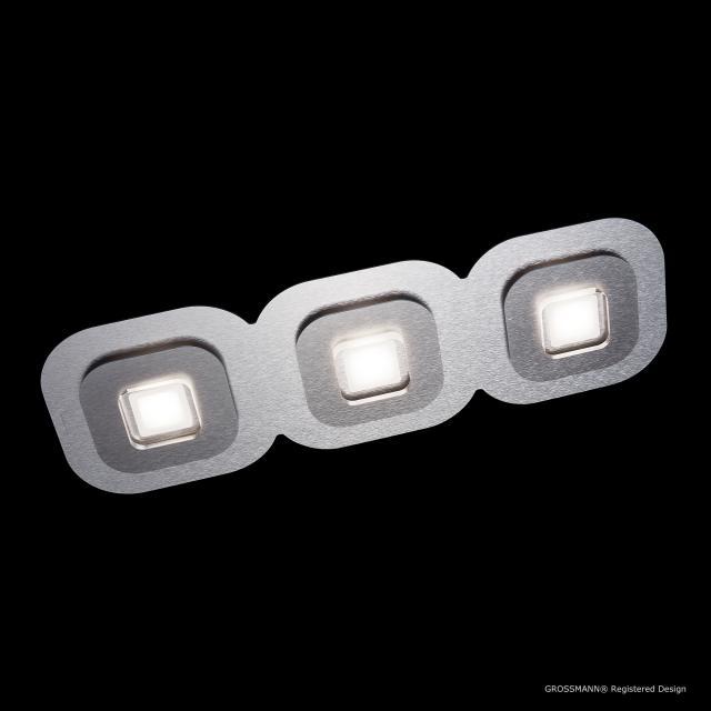 GROSSMANN AP LED ceiling light/wall light, 3 heads