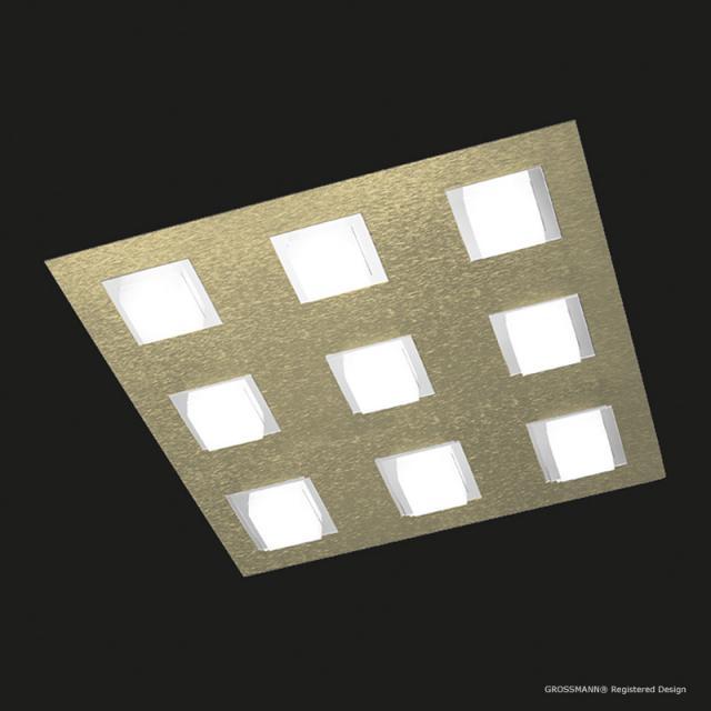 GROSSMANN Basic LED ceiling light, 9 heads