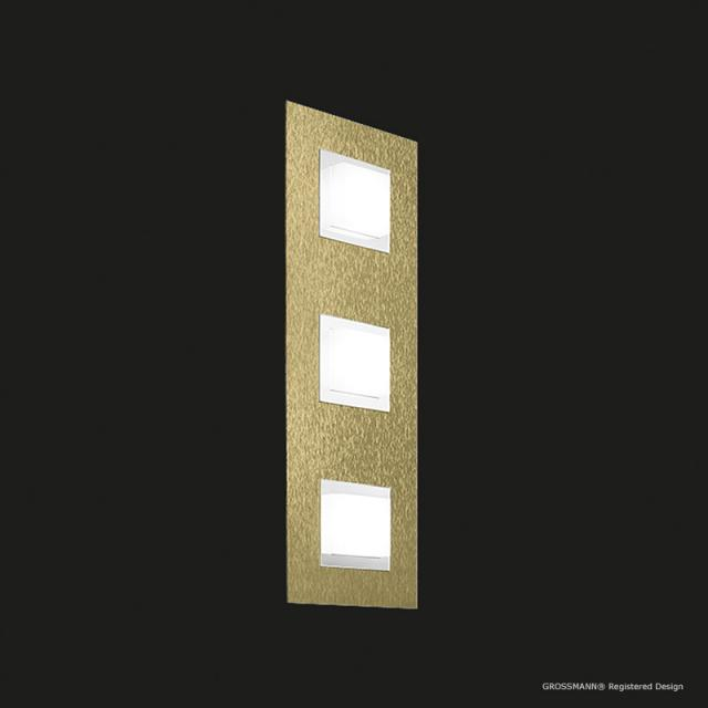 GROSSMANN Basic LED ceiling light/wall light, 3 heads