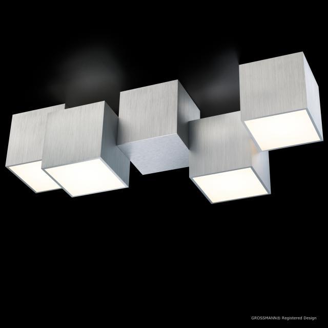 GROSSMANN Rocks LED ceiling light, 4 heads