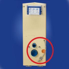 Grumbach corner toilet block H: 108 cm for Geberit® AquaClean Sela
