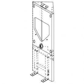 Grumbach corner urinal visit block H: 122 cm