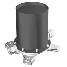 Hansa concealed installation set for floorstanding, single lever bath mixer