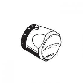 Hansa concealed, temperature control lever