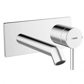 Hansa Designo trim set for wall-mounted single lever basin mixer projection: 200 mm