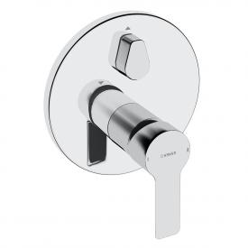 Hansa Ligna concealed single lever bath mixer