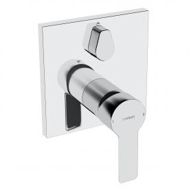 Hansa Ligna concealed, single lever bath mixer, with diverter, for Bluebox