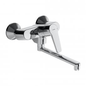 Hansa Polo New wall-mounted, single lever kitchen mixer projection 284 mm