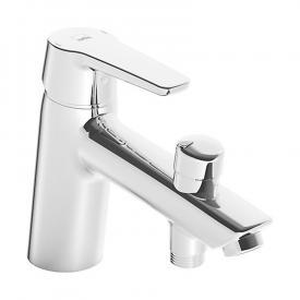 Hansa Polo single lever bath mixer, for deck-mounted installation