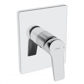 Hansa Twist concealed, single lever shower mixer