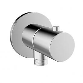 Hansa wall elbow with integrated shut off