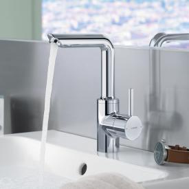 Hansa Vantis Style monobloc, single lever basin mixer with pop-up waste set