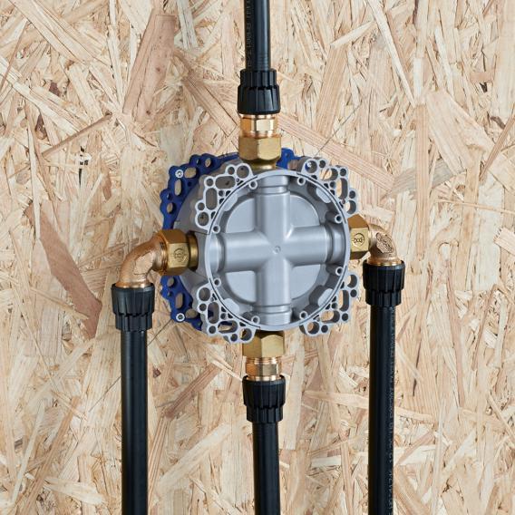 Hansa Bluebox base unit, concealed unit without stop valve