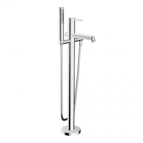 Hansa Designo floorstanding, single lever bath mixer chrome