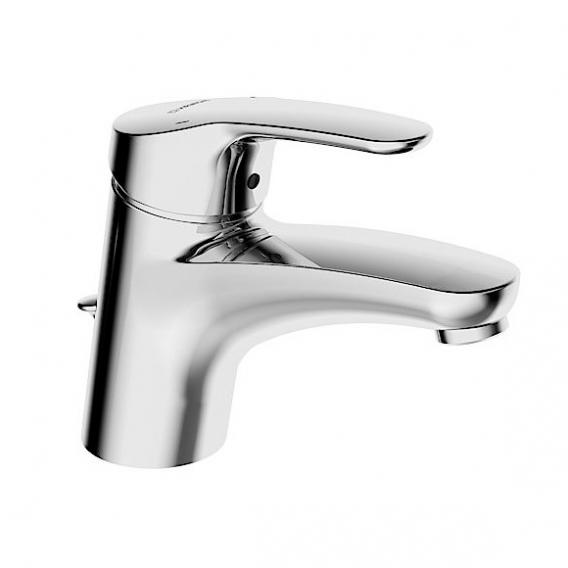 Hansa Mix monobloc, single lever basin mixer with flexible pressure hoses