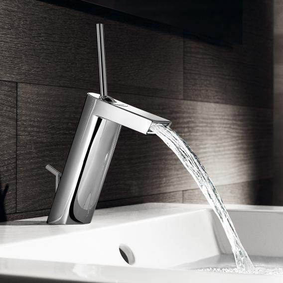 Hansa Stela single lever basin mixer with pop-up waste set