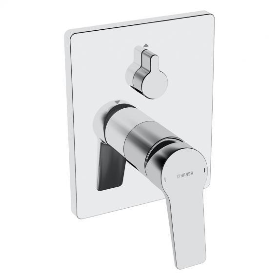 Hansa Twist concealed single lever bath mixer