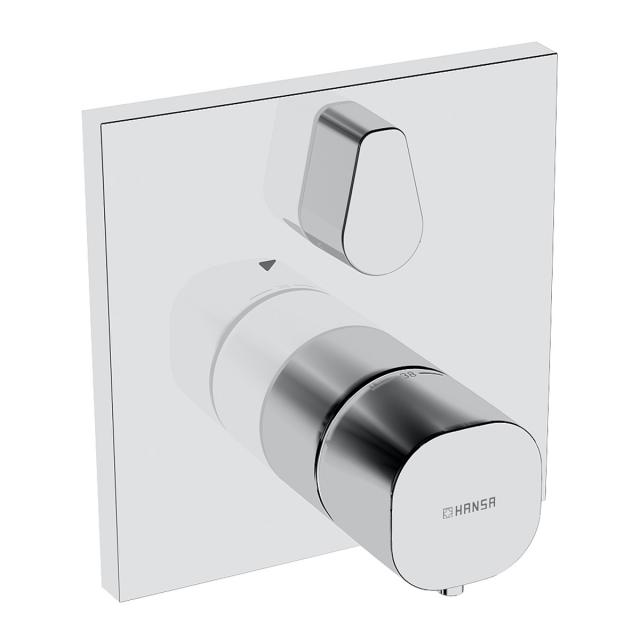 Hansa concealed thermostatic mixer chrome