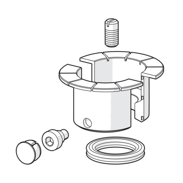 Hansa Designo sealing set for monobloc single lever basin mixer