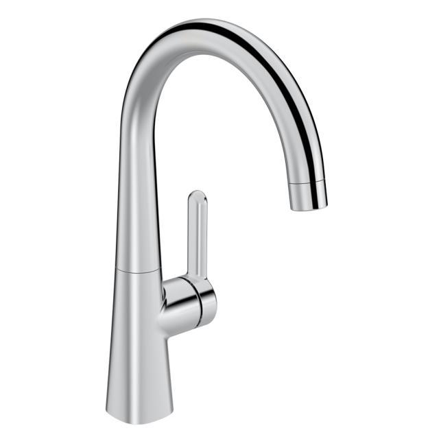Hansa Designo Style monobloc, single lever basin mixer without waste set
