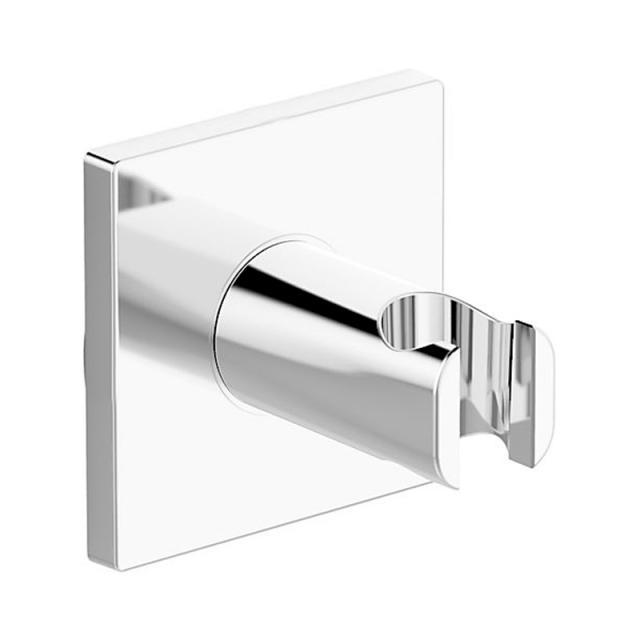 Hansa shower bracket, square
