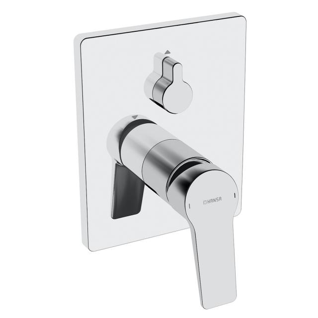 Hansa Twist concealed single lever bath mixer chrome