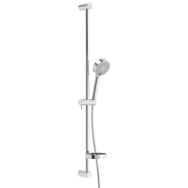 Hansa Viva the NEW shower set, shower rail hole spacing variable