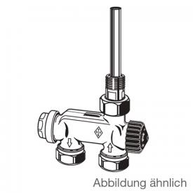HEIMEIER E-Z valve with single point connection single-pipe system