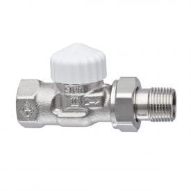 "HEIMEIER V-exact II thermostatic valve body angle/straight DN15 (1/2"")"