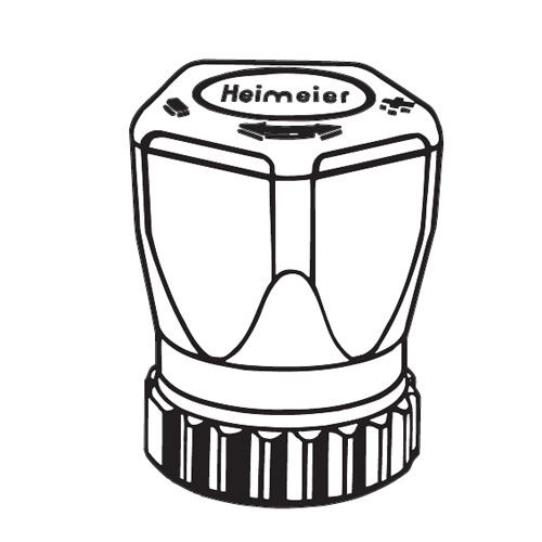 HEIMEIER hand regulating cap